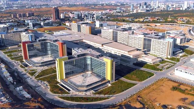 Avrupa'nın en büyüğü Ankara Şehir Hastanesi yarın açılıyor