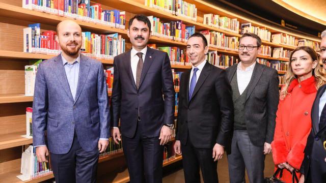 Başakşehir Millet Kıraathanesi törenle açıldı