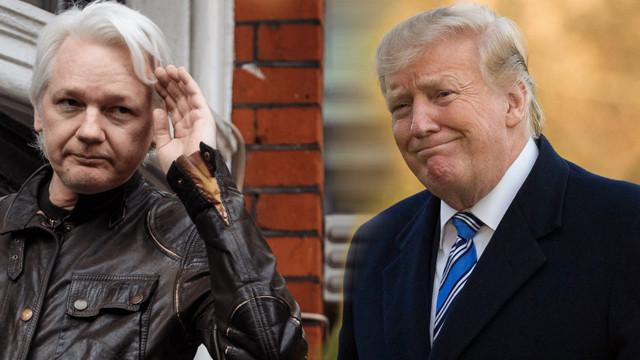 Donald Trump'tan Julian Assange açıklaması