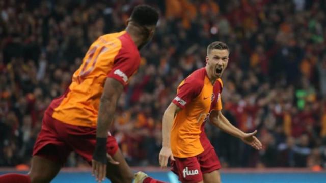 Galatasaray Linnes'in sözleşmesini uzattı