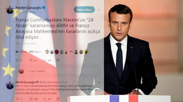Macron'un Ermeni soykırımı kararı