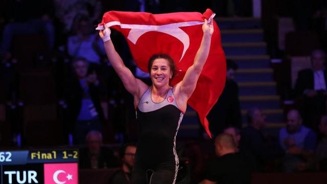 Yasemin Adar 4. kez Avrupa Şampiyonu oldu
