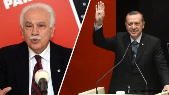Perinçek'ten Erdoğan'a destek