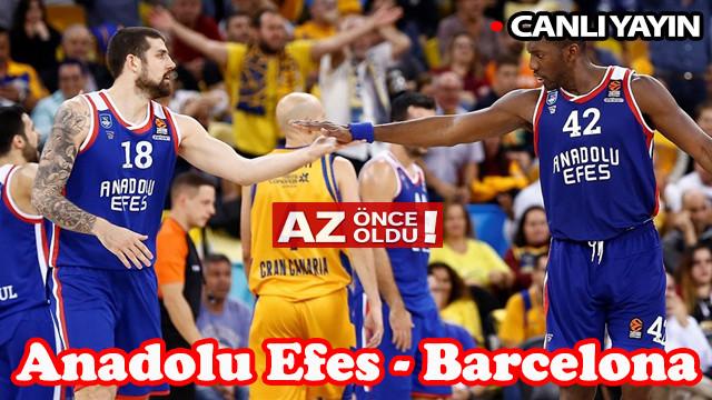 Anadolu Efes Barcelona Lassa maçı hangi kanalda, saat kaçta? Maçı canlı yayınlayan kanallar