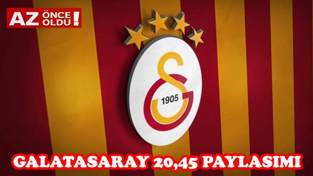 Galatasaray 20.45'te ne açıklayacak? 20.45'te ne olacak?