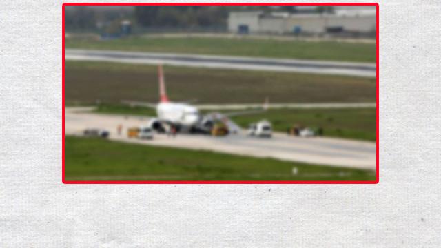 Trabzon İstanbul uçağında panik!