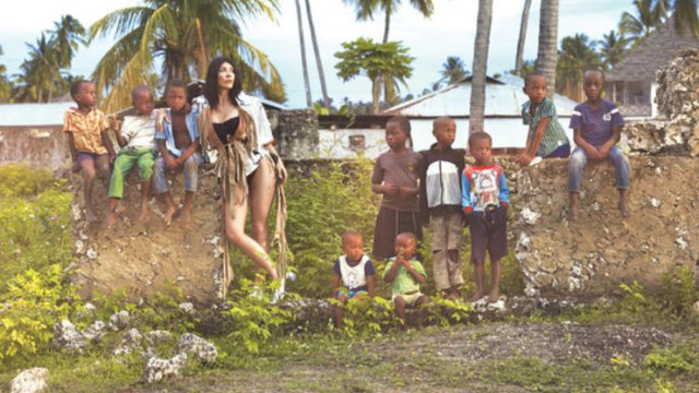 Hande Yener Afrika'da klip çekti