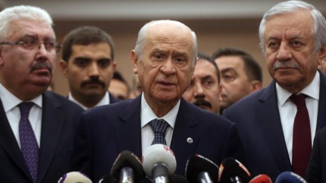 Devlet Bahçeli: İmamoğlu, terörist Demirtaş'a methiyeler düzmektedir