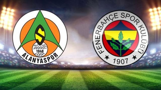 Fenerbahçe Alanya deplasmanından eli boş döndü