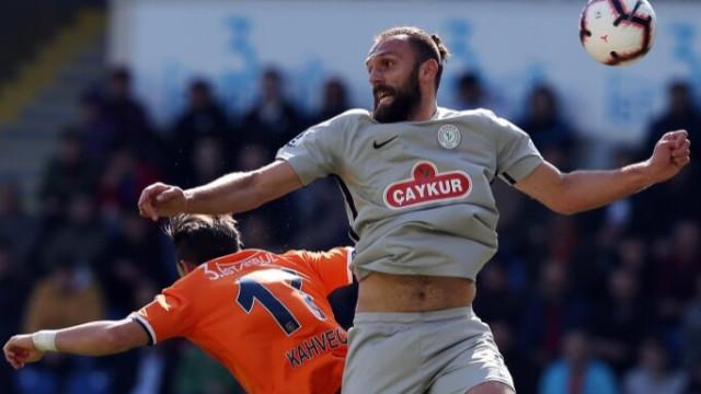 Medipol Başakşehir şampiyonluk yarışında 2 puan bıraktı