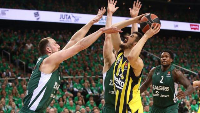 Zalgiris 57-66 Fenerbahçe Beko