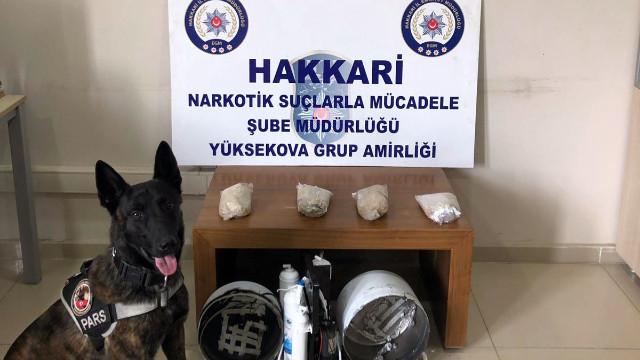 Kargo aracında uyuşturucu yakalındı