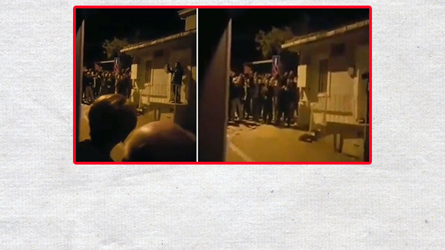 Akşener'in evinin önünde eylem yapmışlardı