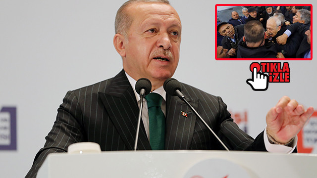 Erdoğan'dan Kılıçdaroğlu'na: Siyasi istismar için oraya gidiyorsun şehit için değil