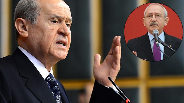 Bahçeli ile Kılıçdaroğlu arasında 'kapak' polemiği
