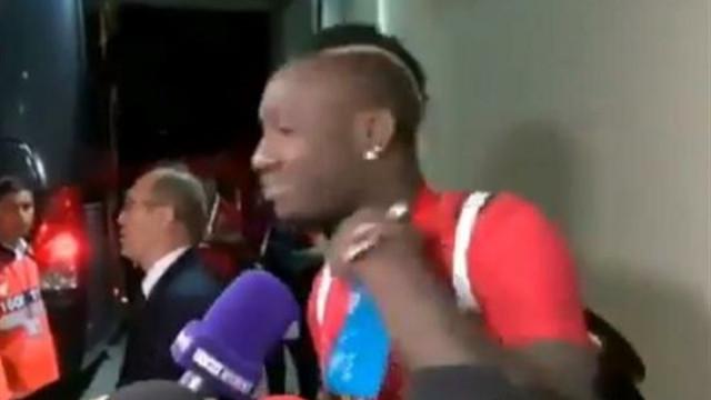 Diagne'den maç sonu tepki çeken hareket