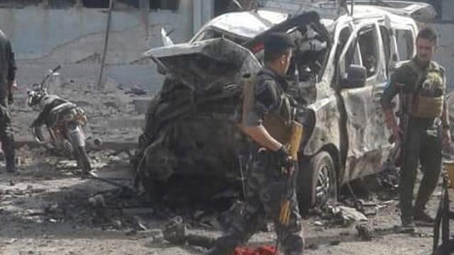Terör örgütünün karargahında patlama