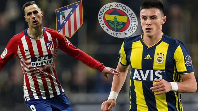 Fenerbahçe'den golcü atağı! Nikola Kalinic karşılığında Eljif Elmas