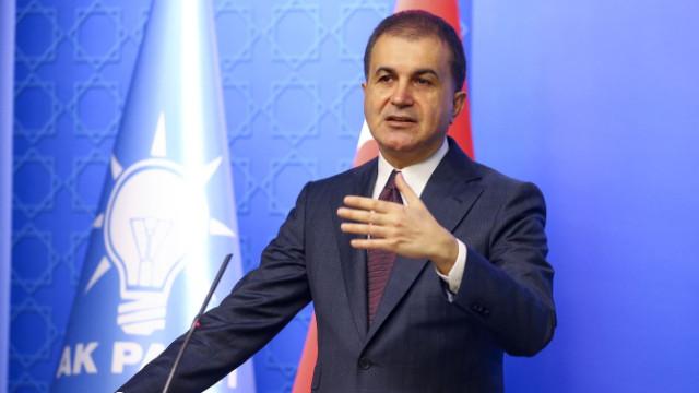 AK Parti Sözcü Ömer Çelik: CHP hakemle kavga ediyor