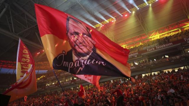 Galatasaray'ın şampiyonluk kutlamalarından görüntüler