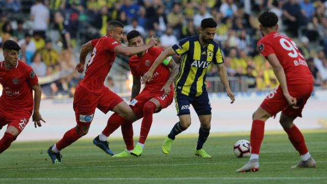 Fenerbahçe sezonu galibiyetle tamamladı