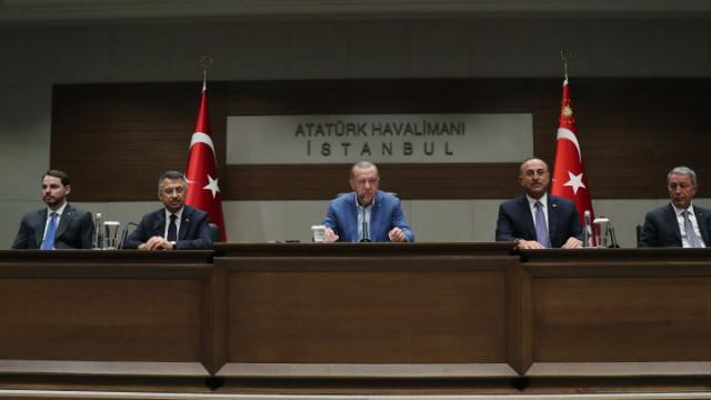 Cumhurbaşkanı Erdoğan'dan ortak yayın açıklaması