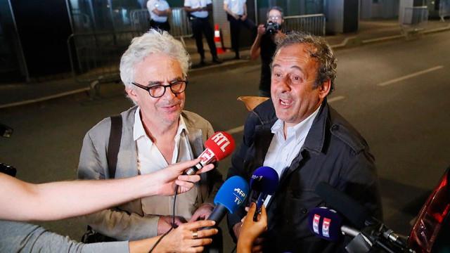Gözaltına alınan Platini serbest bırakıldı