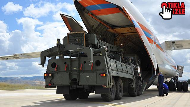 Milli Savunma Bakanlığı paylaştı! İşte S-400 teslimatından ilk görüntüler