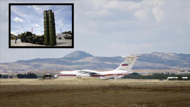 MSB açıkladı! S-400'ler Ankara'ya geldi