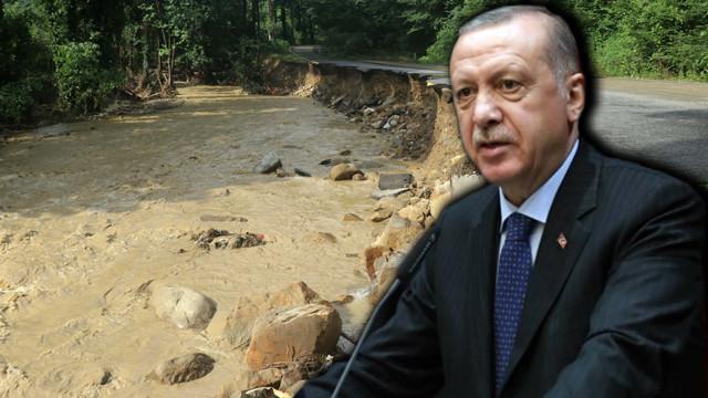 Cumhurbaşkanı Erdoğan: Yaraların sarılması için tüm imkanlar seferber edilecek