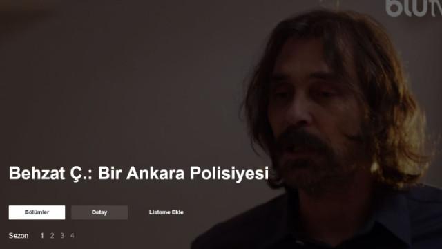 Behzat Ç Blutv 1 bölüm izle - Behzat Ç.: Bir Ankara Polisiyesi ilk bölüm izle