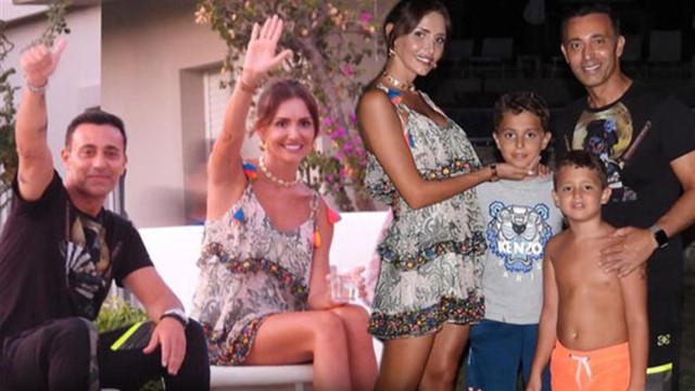 Emina Jahovic ve Mustafa Sandal buluştu