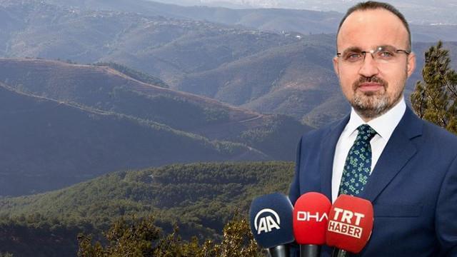 Bülent Turan'dan Kaz Dağları açıklaması