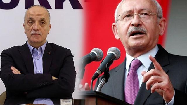 Kılıçdaroğlu'ndan Türk-İş Başkanı Ergün'e tepki!