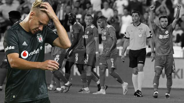 Beşiktaş yeni sezona kötü başladı