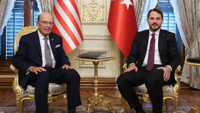 Bakan Albayrak: ABD Ticaret Bakanı ile verimli bir görüşme yaptık