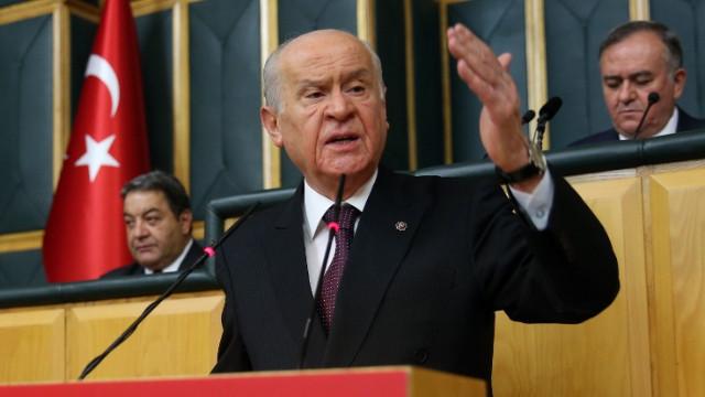 MHP Lideri Bahçeli: Siyasette yeni arayışların ölü doğmaktan başka şansı yok