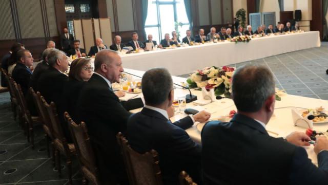 Cumhurbaşkanı ile görüşen belediye başkanlarından ilk açıklama