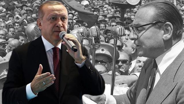Cumhurbaşkanı Erdoğan'dan Menderes mesajı