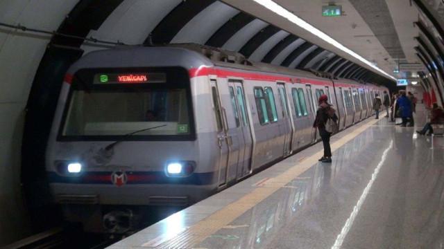 Atatürk Havalimanı metrosu durduruldu!