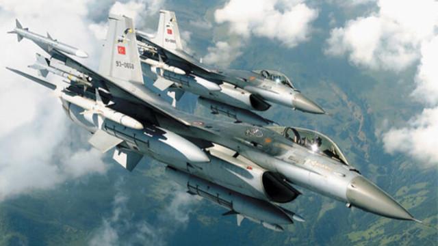 MSB: F-16 uçakları ile Suriye hava sahasında uçuş icra edildi