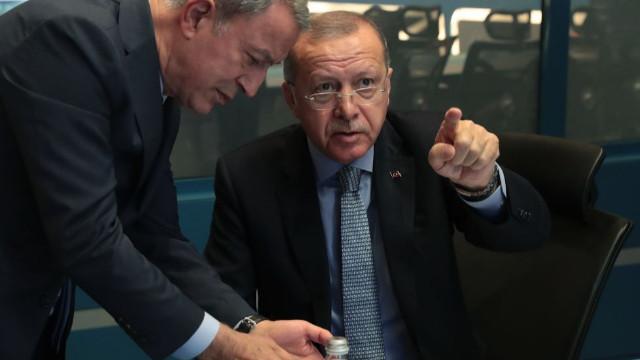 """Erdoğan başkanlığında """"Barış Pınarı Harekatı Koordinasyon Toplantısı"""" yapıldı"""
