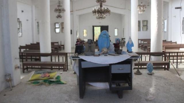 YPG/PKK Ermeni kilisesini karargah yaptı! Terör örgütü ibadethaneleri kullanıyor