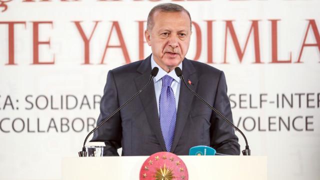 Erdoğan: Bize ambargo uygulayanlar, katilleri silah ve mühimmata boğdu