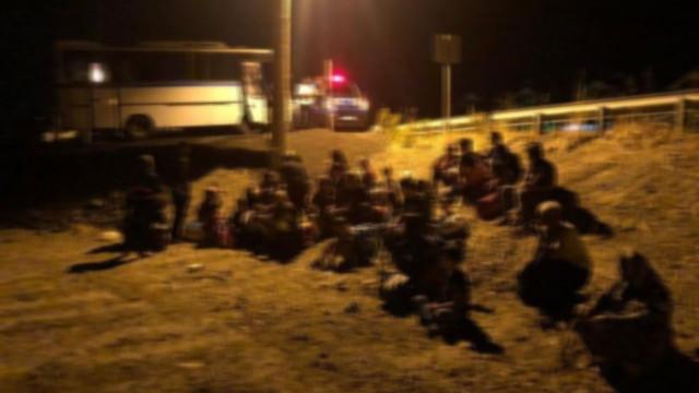 Balıkesir'de 43 kaçak göçmen yakalandı