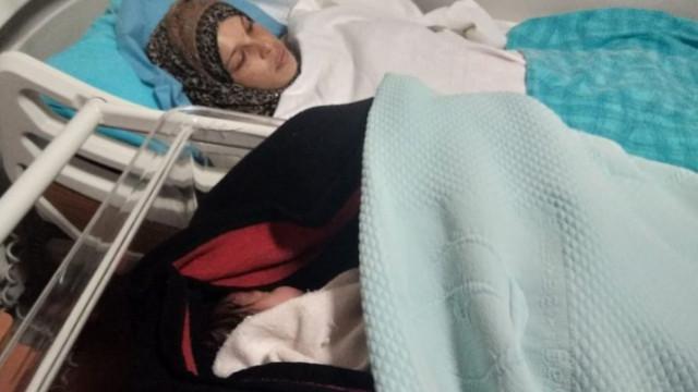 Mehmetçiklerimiz hastaneye yetiştirdi, bebeğinin adını Pınar verdi