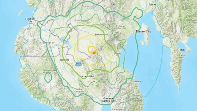 Filipinler'de şiddetli deprem!