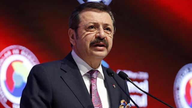 TOBB Başkanı Hisarcıklıoğlu'ndan çağrı: Özel bankalar faizleri yeterince hızlı indirmiyor