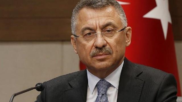 Cumhurbaşkanı Yardımcısı Fuat Oktay: Tehditlere aldırmayacak, yolumuzdan dönmeyeceğiz