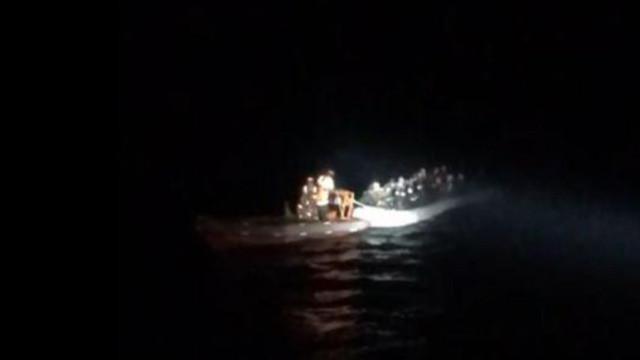 Kuşadası'nda 61 kaçak göçmen yakalandı